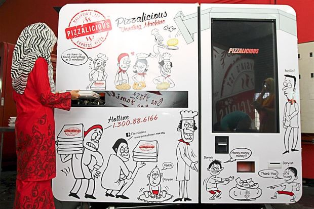 Pizzalicious Vending Machine
