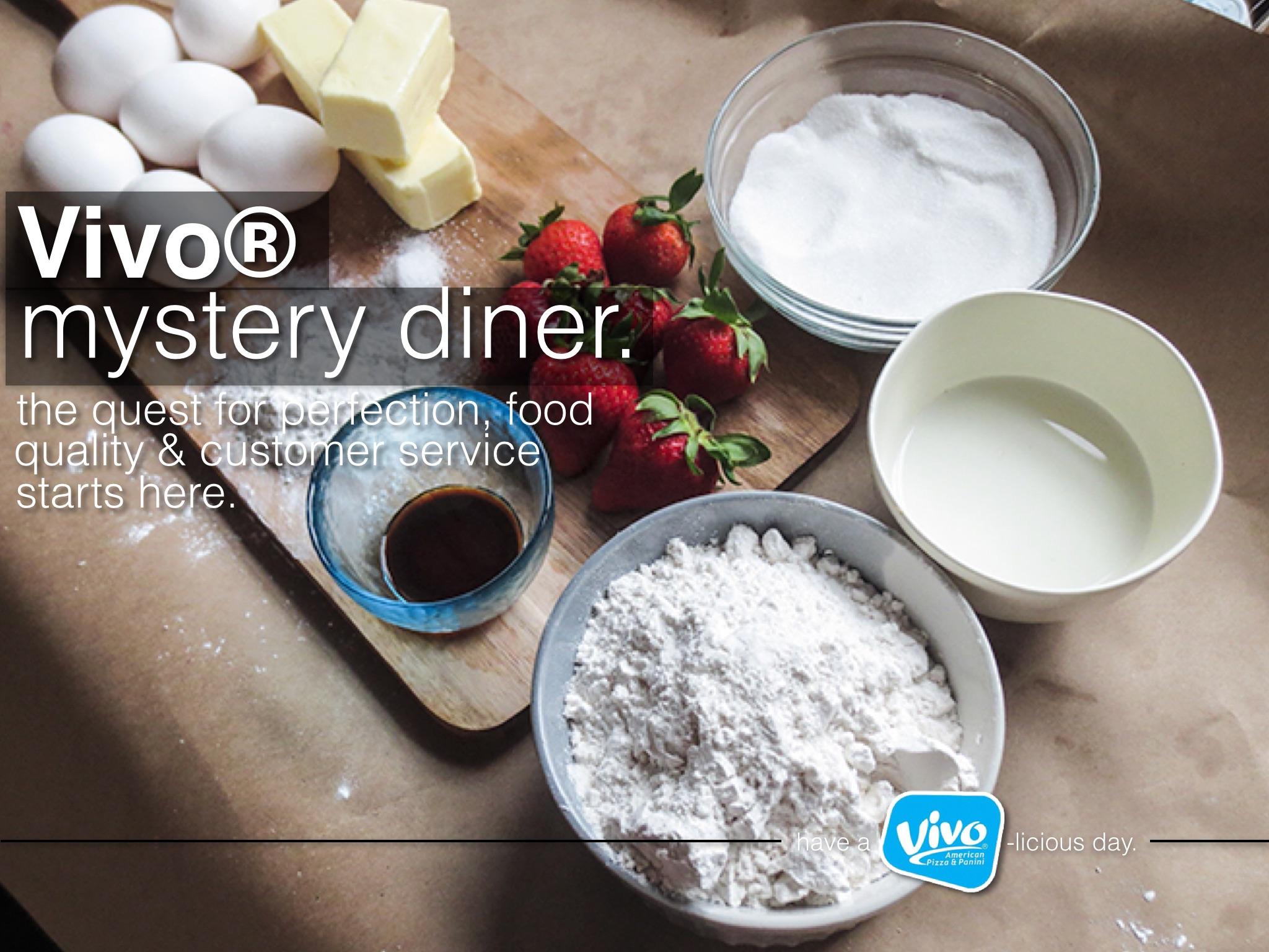 Vivo® Mystery Diner - Header Banner