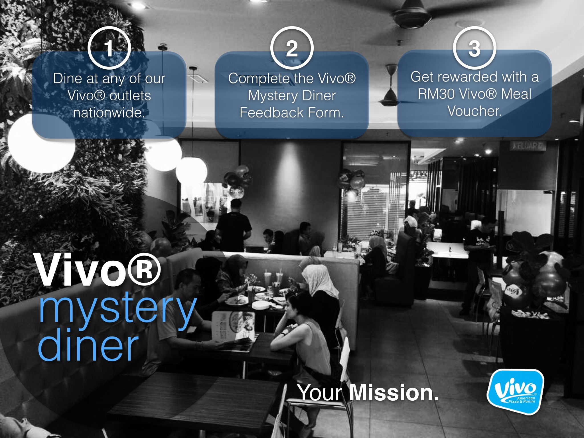 Vivo® Mystery Diner - The Mission