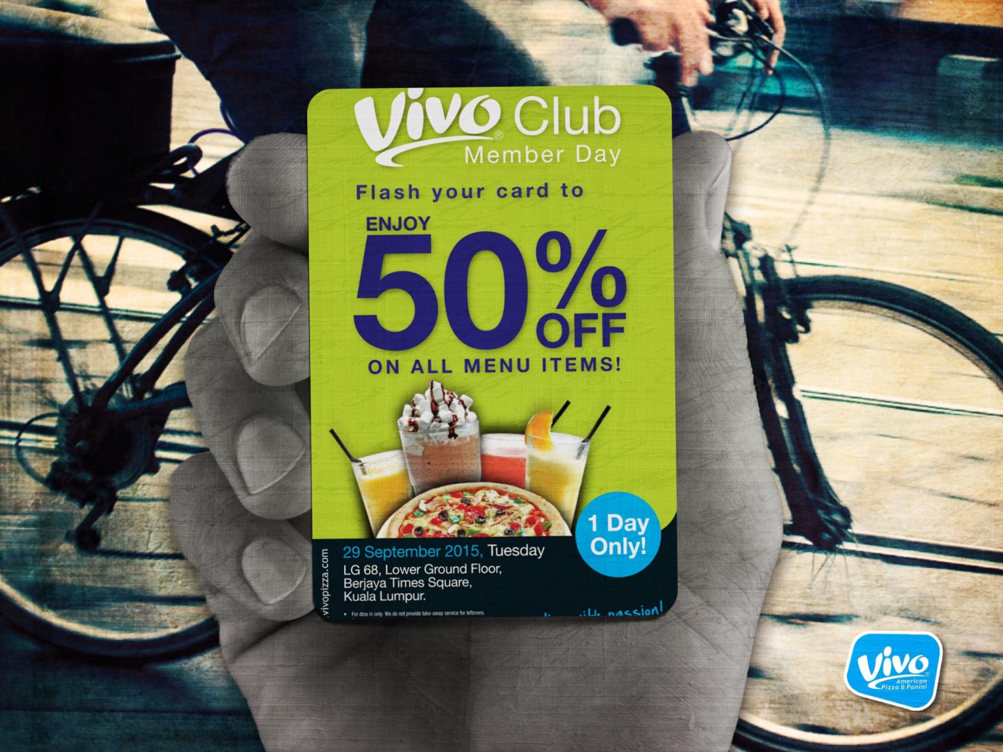 Vivo Club Member Day @ Berjaya Times Square